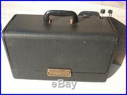 Vintage 1050 Zenith Trans Oceanic Radio Model G500 5G40 Parts or Restore