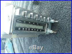 Vintage 1940's 48 Mopar Dodge Radio Model # 802 Serial # 22456