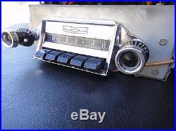 Vintage 1950s Chevy Car Radio authentic / original Chevrolet Auto Part
