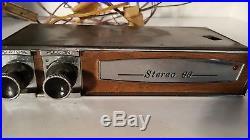 Vintage 1960-1977 VERB-A-TONE Stereo 66 CAR Automobile RADIO Reverb Fader Unit
