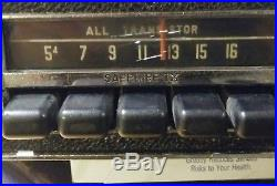 Vintage 1969 Volkswagen VW Motorola AM Radio 9SMV. Beetle, bus, type 3 tested