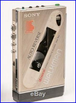Vintage 1980's Sony Walkman WM-100 Cassette Player for Parts or Repair