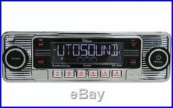 Vintage 60's Look AM FM Car Stereo Radio iPOD & USB CD BLUETOOTH Classic Style
