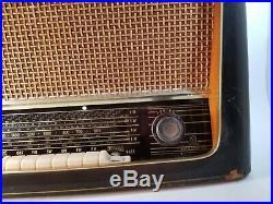 Vintage AJA Model 5842 GERMAN Tube Radio West Germany Short Wave Parts Repair