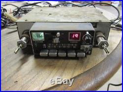 Vintage AMC Jeep AM/FM/CB Radio AM FM CB works no mic