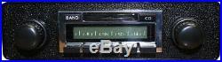 Vintage Adjustable AM FM iPod Car Radio Classic Style Shaft Knobs Preset Buttons
