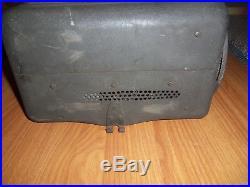 Vintage Antique Motorola 8-60 Car Radio Speaker 1930's-1940's Vacuum Tube RARE