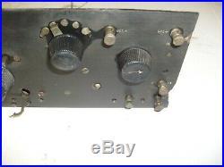 Vintage Barn Fresh Crosley 51 Tube Radio, As Is For Parts Or Repair
