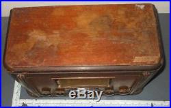 Vintage Belmont Skyrover 7D22 Tube Radio PARTS/REPAIR
