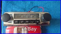 Vintage Blaupunkt Bremen chrome car radio Porsche 356 Mercedes