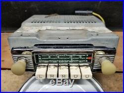 Vintage Blaupunkt Frankfurt Tr De Luxe Porsche 356 911 AM/FM Car Radio RARE RARE