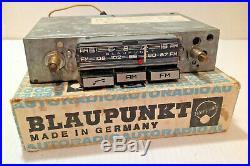 Vintage Blaupunkt Montreal AM/FM Auto Radio for Porsche Volkswagen Mercedes BMW