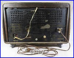 Vintage Blaupunkt Verona Type 2608 Tube Radio Made in Germany Parts or Restore