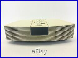 Vintage Bose Wave Radio model AWR1-1W Made in USA Electric Alarm Clock Parts