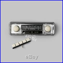 Vintage Classic Radio Vw Volkswagen Beetle Aux / Usb / Bluetooth