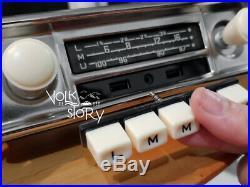 Vintage Classic Radio Vw Volkswagen Split Bus Karmann Ghia Aux /usb / Bluetooth2