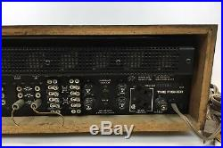 Vintage Fisher 600 Stereo Receiver AM FM Radio Parts or