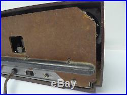 Vintage Gebraucht General Electric Ge Braun Uhr Schlauch Radio Parts