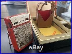 Vintage Gm Transister Radio Automobilia Accessories