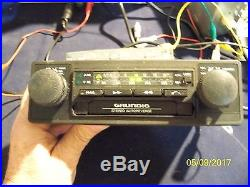 Vintage Grundig Electronic Tune Radio Cassette Porsche VW Audi Mercedes