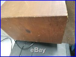 Vintage Grundig Senderwhal Radio tube untested parts or repair only sold as is