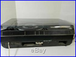 Vintage Grundig Studio 3010 Turntable AM/FM Cassette Player Parts or Repair