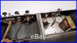 Vintage Ham Radio Power Supply & Regenerative Radio Homebrew Parts