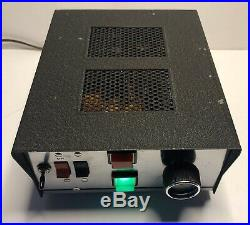 Vintage Ham Radio Tube Amplifier Nice Condition 1 Tube Driving 2 Parts Or Repair
