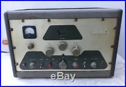 Vintage Heathkit DX-100 Shortwave Radio Transmitter Not Working Parts Or Repair