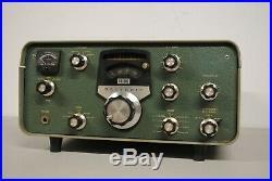 Vintage Heathkit Sb-301 Ham Radio Receiver For Parts Or Restoration