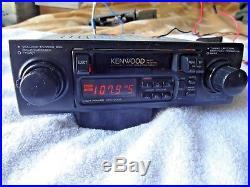 Vintage Kenwood AM/FM radio cassette stereo KRC-2004 shaft style working great
