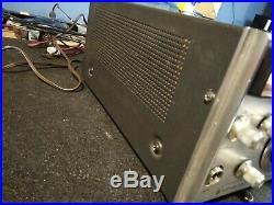 Vintage Kenwood T-599A HF Ham Radio Transmitter for parts or restoration