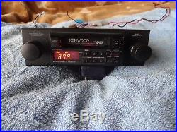 Vintage Kenwood car radio AM/FM cassette digital working in good condition