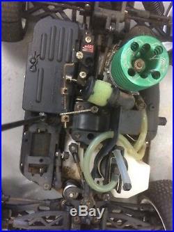 Vintage Kyosho Mini Inferno 09 ST Starter Box Perfex Radio Sirio Engine Parts +