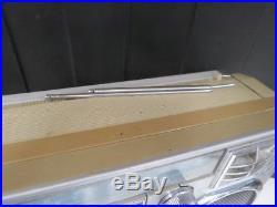 Vintage Lasonic Trc-920 Boombox Radio Cassette Player-for Parts Or Repair 3275k