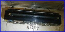 Vintage Lasonic Trc-931 Double Cassette Radio Boombox Parts Or Repair