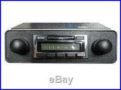 Vintage Look NEW Stereo Radio AM FM with AUX for iPod USB MP3 VW Bug Beetle Bus