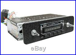 Vintage Look NEW Stereo Radio AM FM with AUX for iPod/iPhone/MP3 VW Bug Beetle Bus