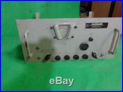 Vintage Megacycles Ham Radio Receiver R-593/GRR For Parts or Repair