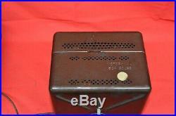 Vintage Motorola Model 504 Car Radio Dash Bulkhead Mount Speaker Tube Amp NOS