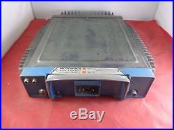Vintage Motorola Motrac 2-Way Radio U53HHT-3100B FOR PARTS OR REPAIR