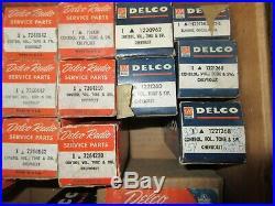 Vintage NOS GM Delco Radio service parts lot of 21