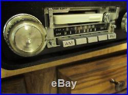 Vintage Pioneer Kpx-9000 Car Radio Stereo + Pioneer Amplifier Gm-40 Shaft Workis