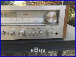 Vintage Pioneer SX-650 Receiver Radio Stereo AM/FM WORKS Parts Repair