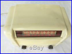 Vintage RARE Dewald A500 TUBE radio, AS IS FOR PARTS OR REPAIR UNTESTED