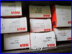 Vintage RCA Television Radio Repairman's Spare Parts Case Loaded OEM Parts