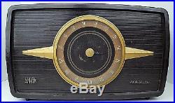Vintage RCA Victor Livingston 1R81 Deco Bakelite AM FM Tube Radio Parts Repair