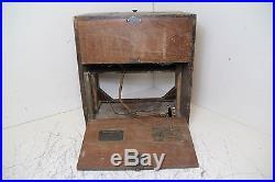 Vintage RCA Victor Model 26 Multiband 13 Wooden Tube Radio Parts/Repair