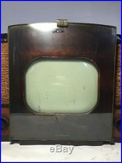 Vintage RCA Victor Tube TV Model 630TS- For Restoration or Parts