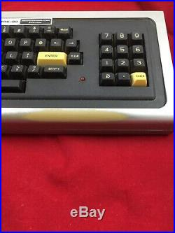 Vintage Radio Shack TRS-80 Micro Computer Keyboard For Parts This Does Not Work